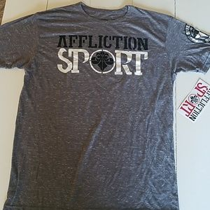 Affliction sport t-shirt. XL.      NWT